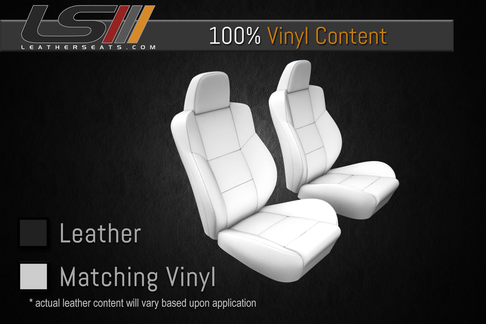 Single Row 100% Vinyl Leather Content