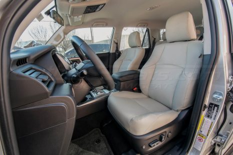 2010-2018 Toyota 4Runner Single-Tone Frost w/ matching Double-Stitching - Front Driver