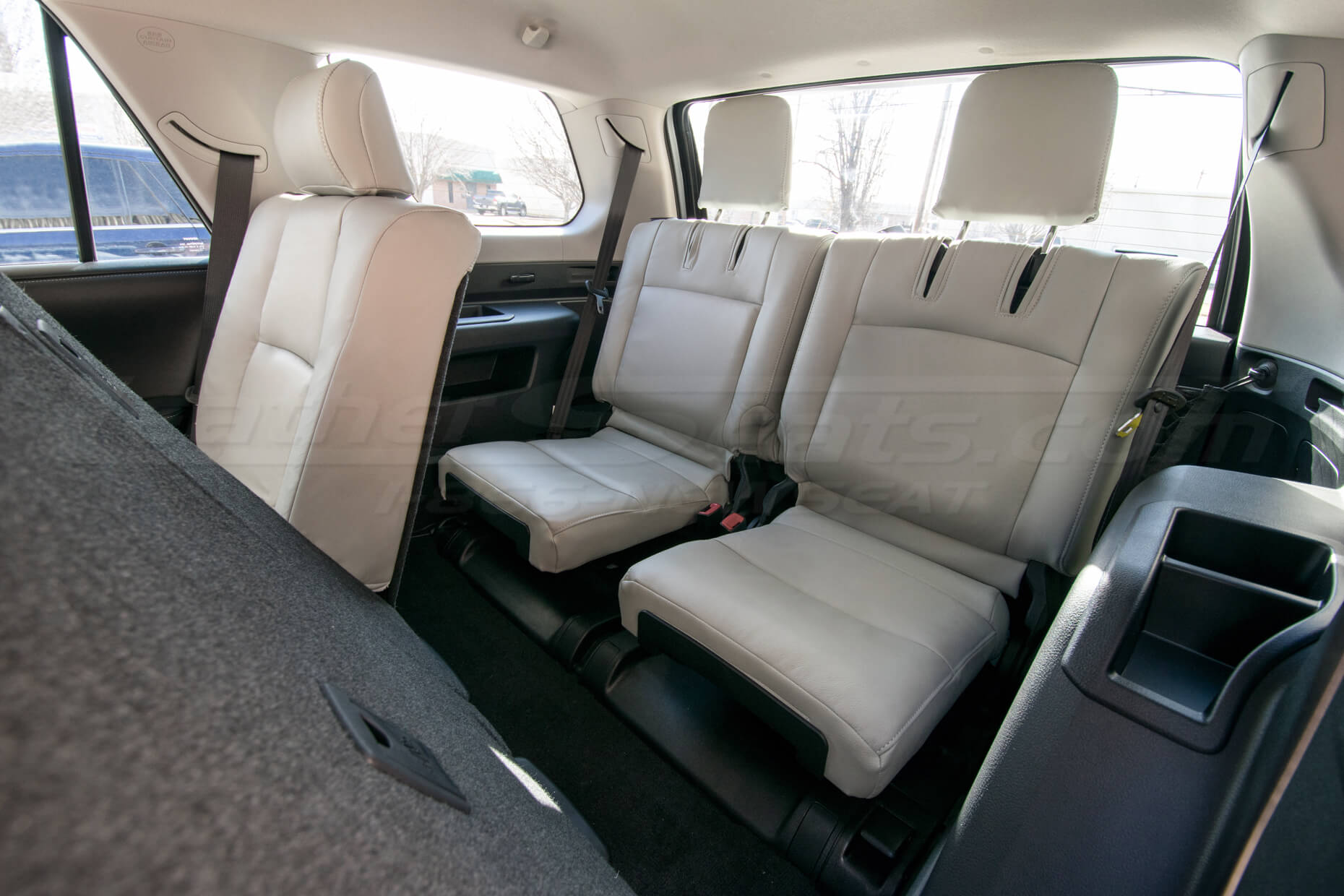 2010-2018 Toyota 4Runner Single-Tone Frost w/ matching Double-stitching - rear