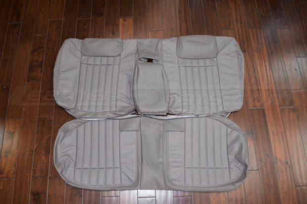 94-96 Chevrolet Impala Leather Upholstery Kit- Smoke - rear seat upholstery