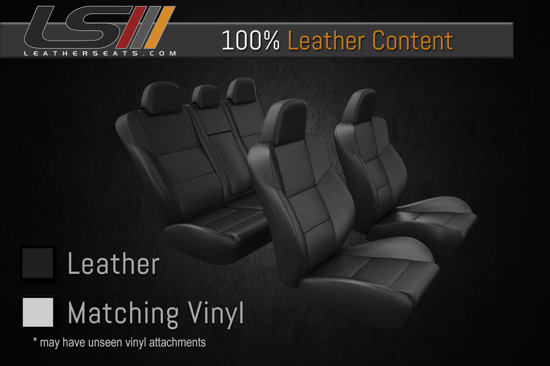 Leather Content - Two Row Interior - 100% Leather