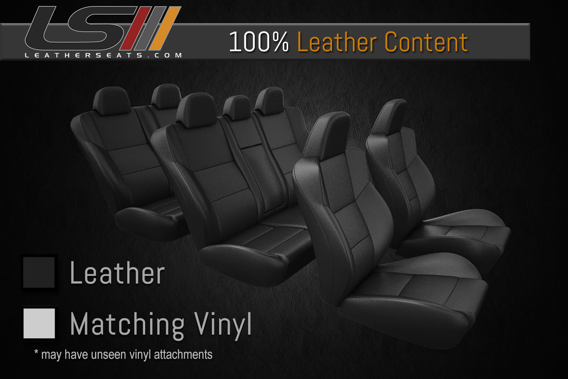 Leather Content - Three Row Interior - 100% Leather
