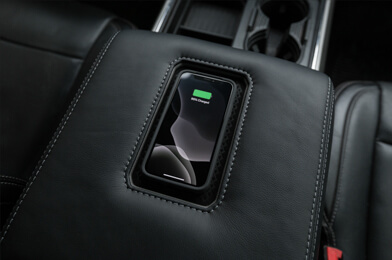 Sanctum wireless charging console lid - Ford Superduty