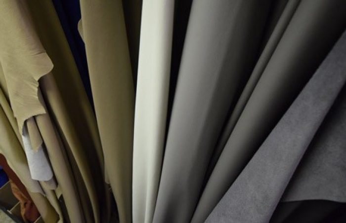 Stand Leather Hides 2