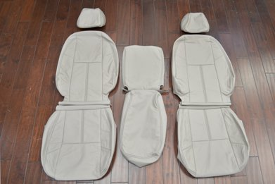 2003-2007 Chevrolet Silverado Leather Upholstery Kit- Dove Grey- Featured Image