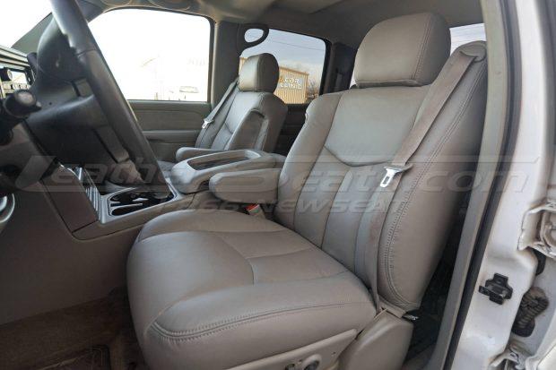 Chevy Silverado leather interior