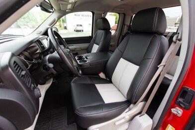 Chevrolet Silverado Installed - Black & Dove Grey