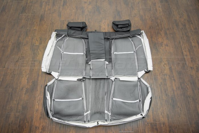 Back of the rear seat upholstery - 04-06 Acura TL Black