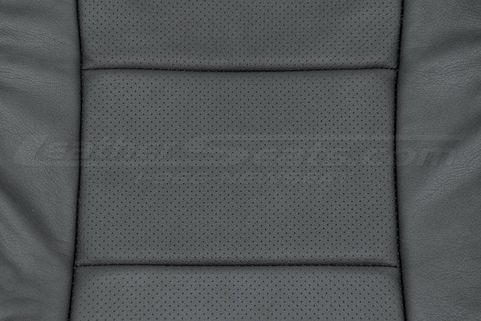 04-06 Acura TL Black Perforation close-up