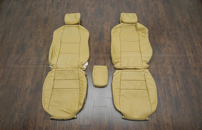 Front seat upholstery w/ console - 04-06 Acura TL Doeskin kit