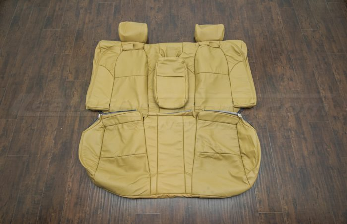 Rear seat upholstery - 04-06 Acura TL Doeskin kit