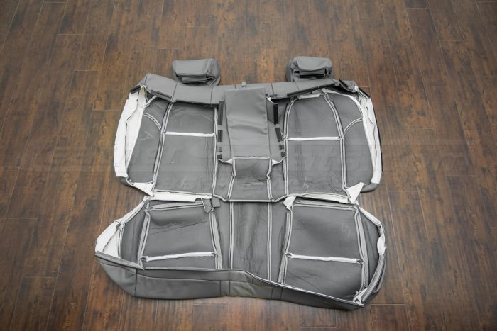 Back of rear seat upholstery - 04-06 Acura TL Light Grey
