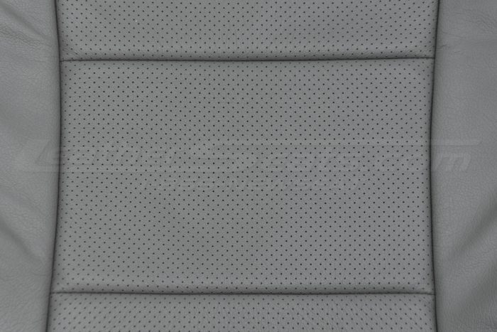 Insert & Perforation close-up - 04-06 Acura TL Light Grey
