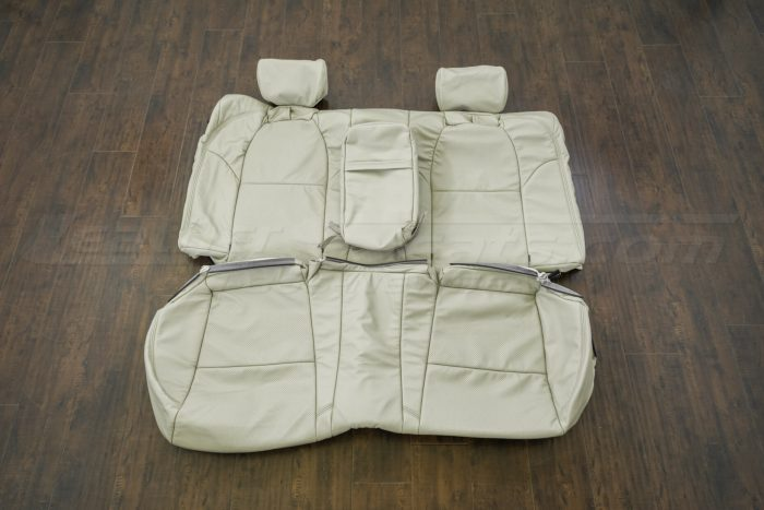 Rear seat upholstery - 04-06 Acura TL Parchment