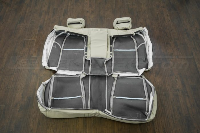 Back of rear seat upholstery - 04-06 Acura TL Parchment