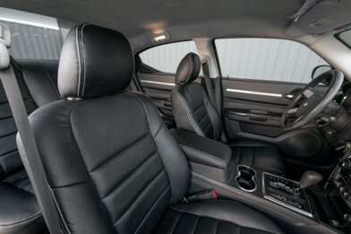 Dodge Charger Installed Upholstery Kit - Featured Image