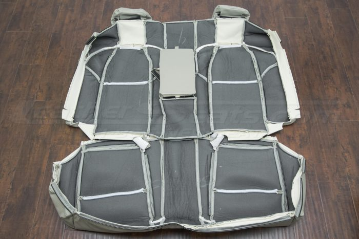 Back view of rear seat upholstery - 07-08 Acura TL Beach kit
