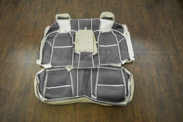 Back of rear seat upholstery - 07-08 Acura TL Parchment kit