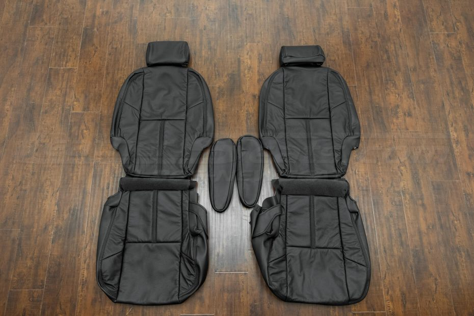 2007-2014 Chevrolet Tahoe Upholstery Kit - Black - Front seats with armrests