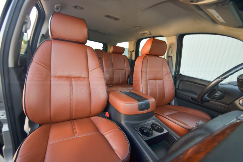Chevrolet Tahoe/GMC YukonMitt Brown Pre-selected package Mitt Brown Front Seats