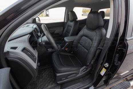 Installed 15-20 Chevrolet Colorado - Single-Tone Black Front Driver Seat