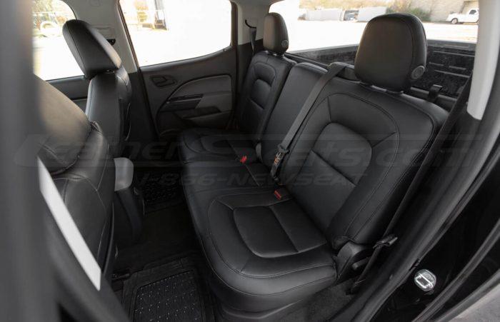 Installed 15-20 Chevrolet Colorado Leather Kit - Black - Rear Seats
