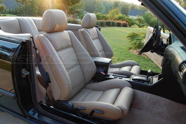 1985-1991 BMW 3 Series custom nutmeg interior