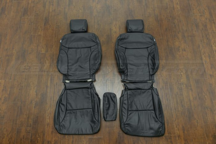 2014-2015 Honda Civic Upholstery Kit - Black - Front seats with console cover