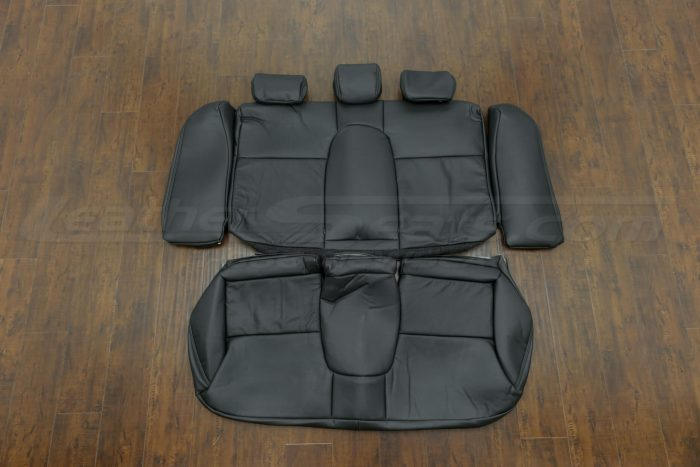 2014-2015 Honda Civic Upholstery Kit - Black - Back seats with bolsters and armrest