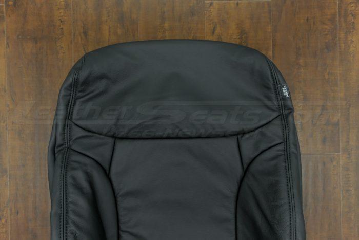 2014-2015 Honda Civic Upholstery Kit - Black - Upper section of backrest