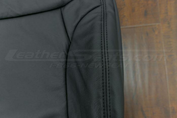 2014-2015 Honda Civic Upholstery Kit - Black - Black side double-stitching