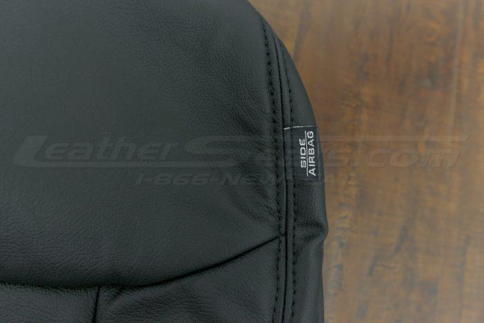 2014-2015 Honda civic upholstery - Black - Side airbag tag