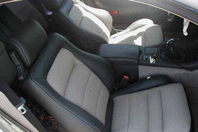 Dodge Stealth Installed Kit - Dark Graphite & Dove Grey