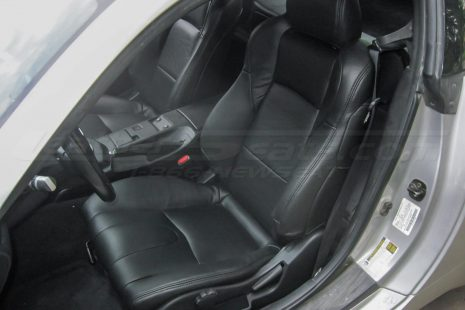 Nissan 350Z installed kit - Black - Front driver sear