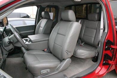 Nissan Titan installed kit - Graphite008