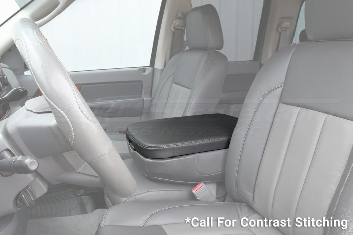 Dodge Ram. Console Lid Cover - Wide angle alternative
