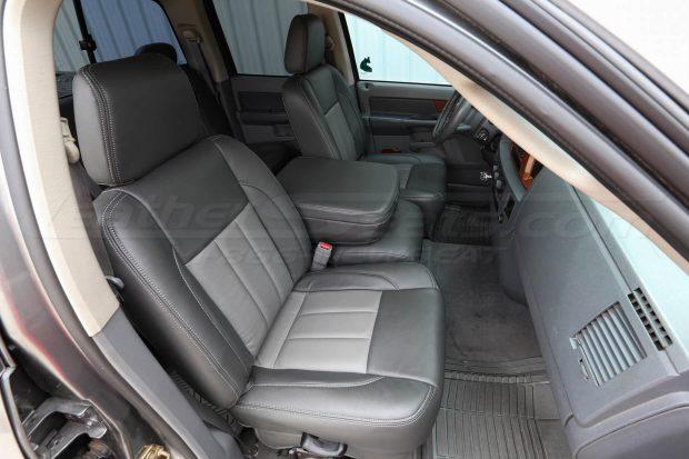 06-08 Dodge Ram- Two-Tone Graphite w/ Light Grey - Front passenger