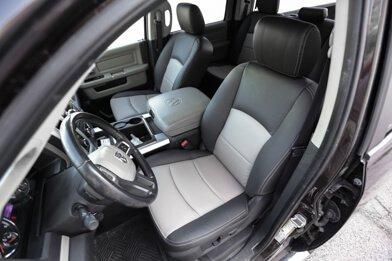Dodge Ram Leather Seats - Black & Dark Graphite - Featured Image