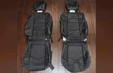 Nissan 370Z upholstery kit - black -Featured Image