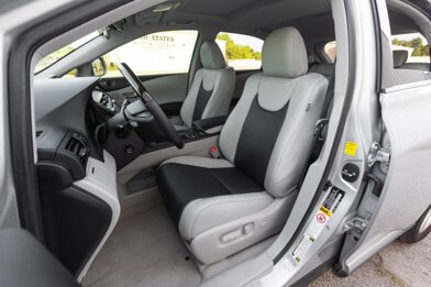 Lexus RX350 Leather Seats - Frost & Black - Featured Image