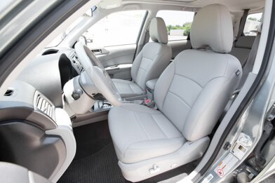 2011-2013 Subaru Forester Leather Seats - Ash - Installed - Featured Image