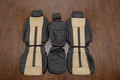 Ford F-150 Upholstery Kit - Black & Bisque