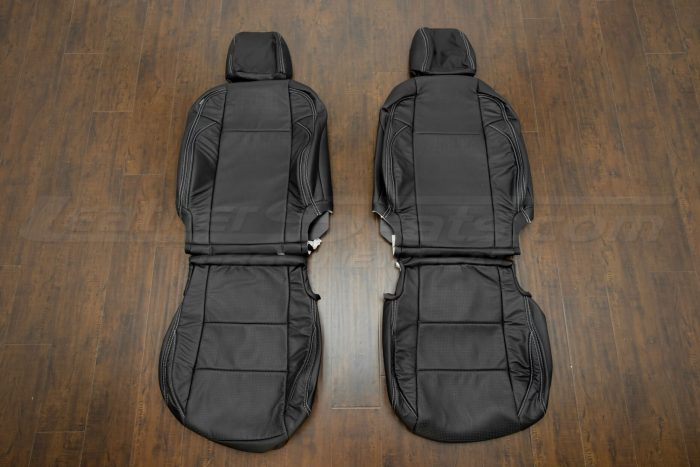 2016-2020 Toyota Tacoma Leather Seats - Black - Front seat upholstery