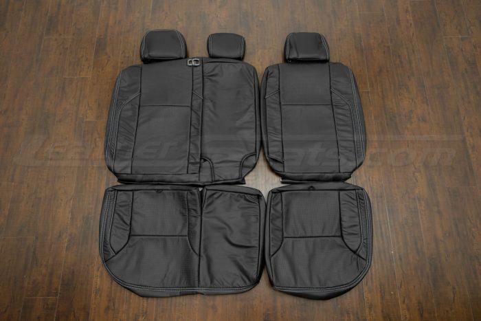2016-2020 Toyota Tacoma Leather Seats - Black - Rear seat upholstery