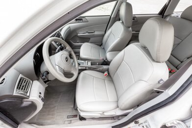 Subaru Forester Upholstery Kit - Ash - Installed - Featured Image