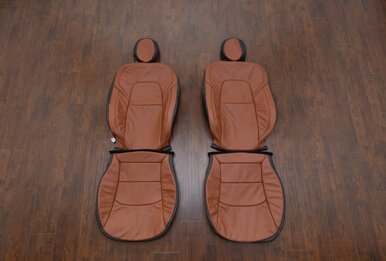 Tesla Model 3 Leather Seats - Mitt Brown - Featured Image