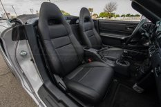 2018-2020 Toyota MR-2 Leather Seats - Black - Front interior from passenger side