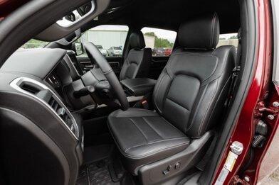2019-2020 Dodge Ram Leather Seats - Black -