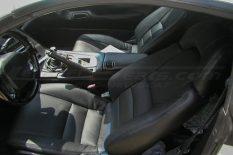 1993-1996 Toyota Supra Upholstery installed kit - Black