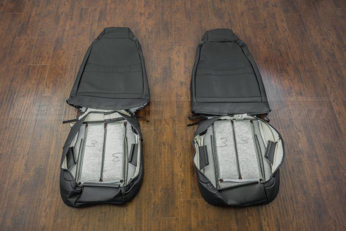 Jeep Wrangler JL Upholstery Kit - Black - Back of front seats